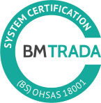OHSAS 18001 accredited occupational health and safety management system