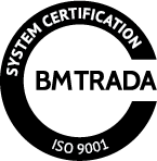ISO 9001 accredited quality management system